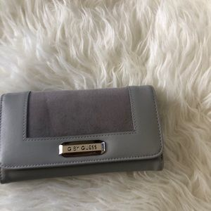 G by guess silver wallet